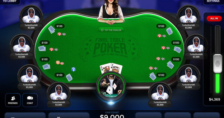 poker tips at a Texas Hold Em table